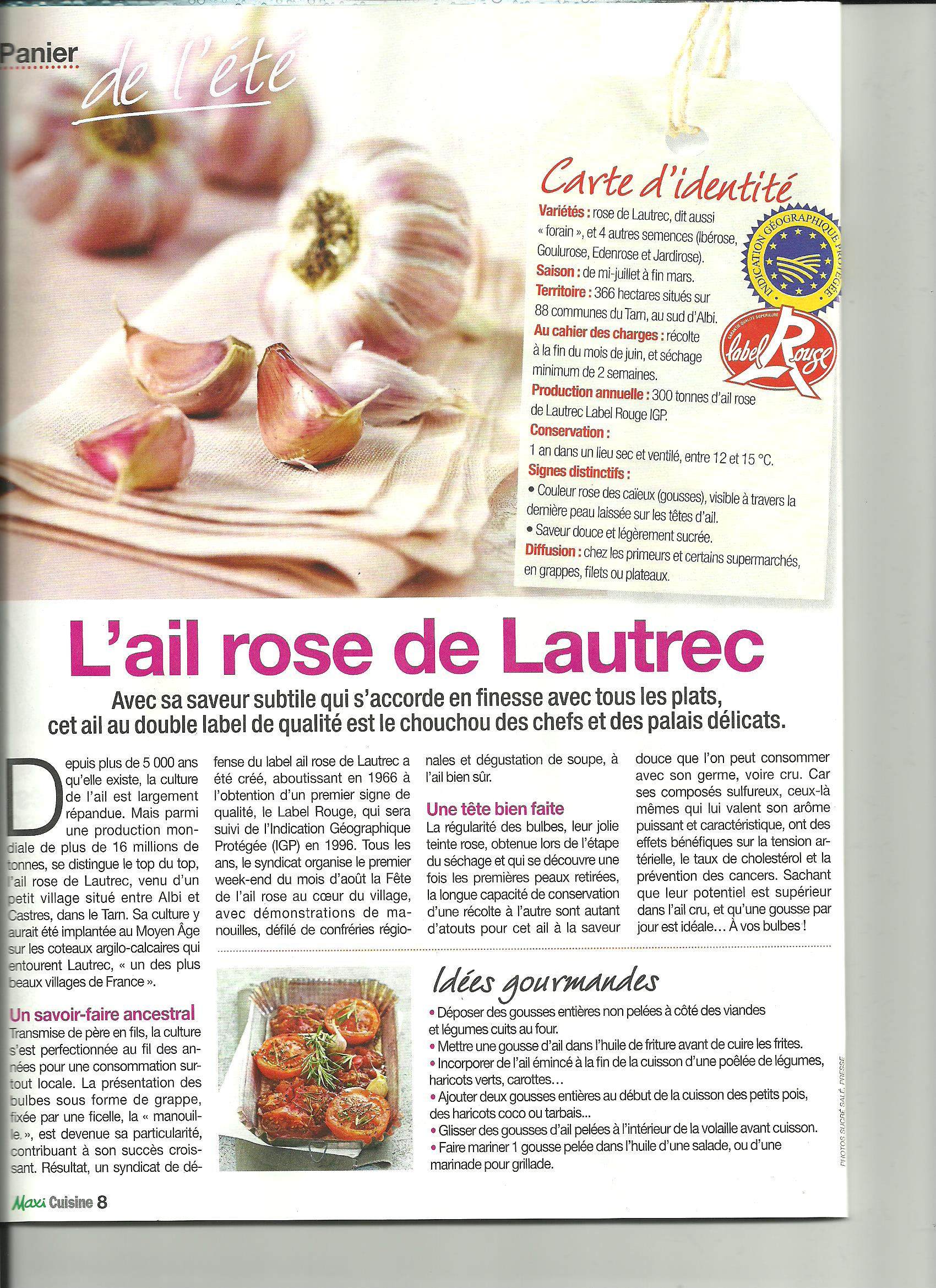 article ail rose - maxi cuisine 001